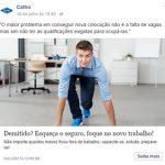 exemplo de anúncio de Facebook Ads Nalabuta.com.br - Catho
